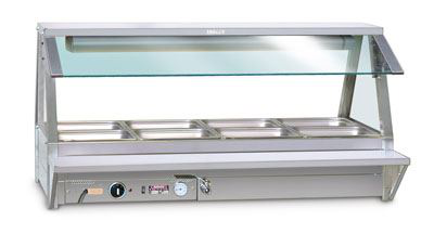 Roband TR16 Tray Race to suit 6 Module Food Bars - Single Row