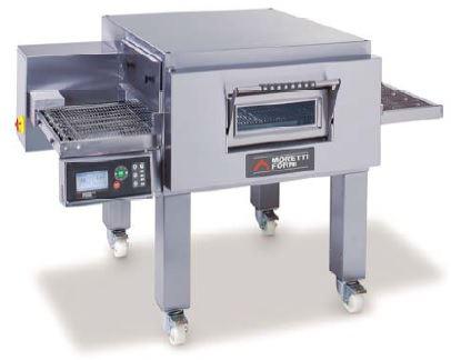 Moretti Forni Model T97G Single Level Gas Conveyor Oven