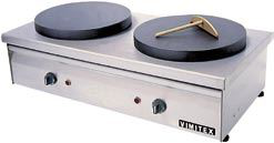 Vimitex Double Electric Crepe Plats