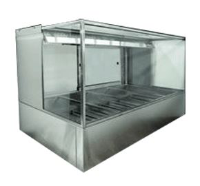 Woodson Square Profile Hot Food Display 5 Bay