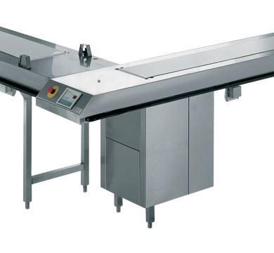 Rieber 11000mm Food Distribution Conveyor Belt