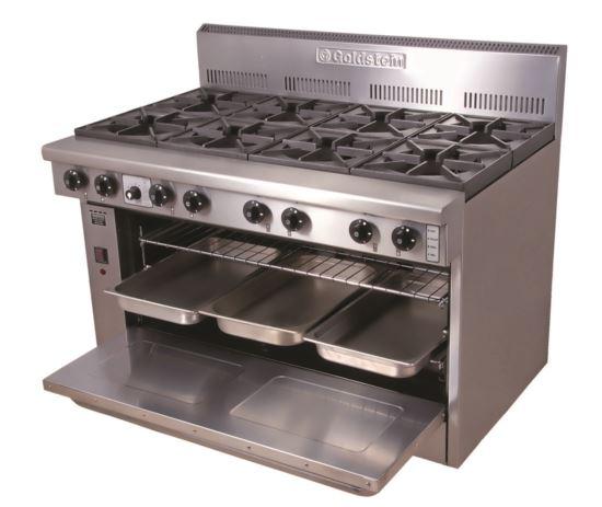 Goldstein PF840 800 Series 40 inch Static Gas Oven - 8 Burner