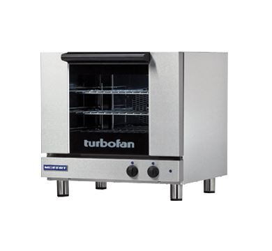 Turbofan Half Size Tray Manual Electric Convection Oven Bi-directional fan