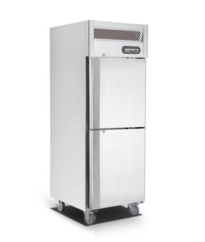 Saltas EUS2738 Single Split Door Upright Freezer