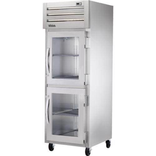 True STG1R-2HG Spec Series - 2 x 1/2 Glass Door Upright Refrigerator