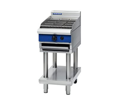 Blue Seal Evolution Series G593-LS - 450mm Gas Chargrill - Leg Stand