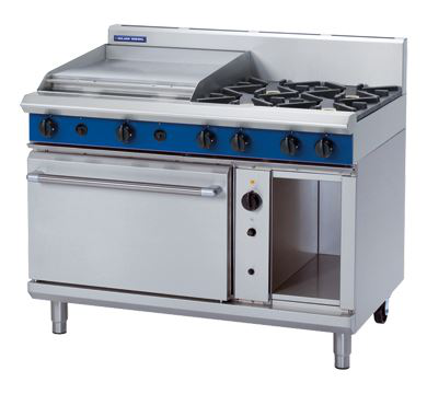Blue Seal Evolution Series 1200mm Gas Range Convection Oven