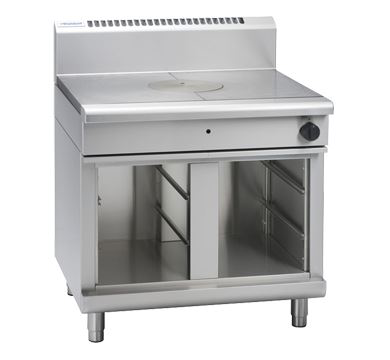 Waldorf 800 Series 900mm Gas Target Top Low Back Version*Cabinet Base