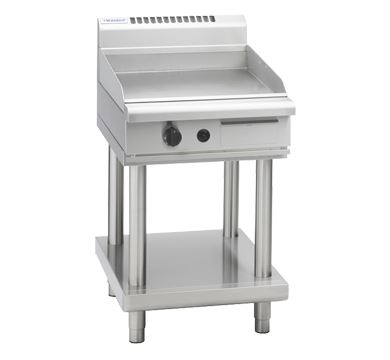 Waldorf 800 Series 600mm Gas Griddle  Leg Stand