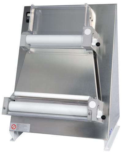 GAM R40PE Heavy Duty 400mm Double Pass Parallel Dough Roller