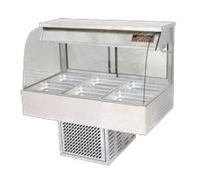 Woodson W.CFC25 Curved Cold Food Display 5 Bay