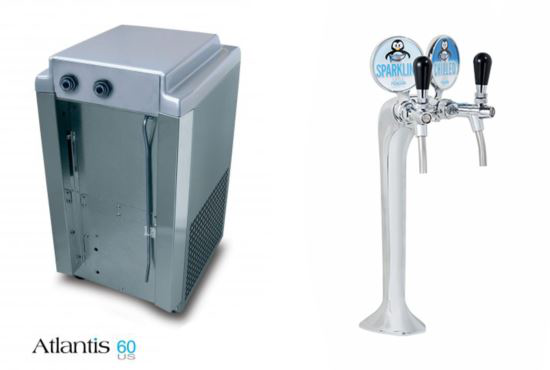 Atlantis 60 Undercounter Joy - Chilled & Ambient Water Font