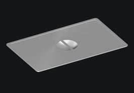 Woodson Steam Table Lid to suit 1/6 Size Pan