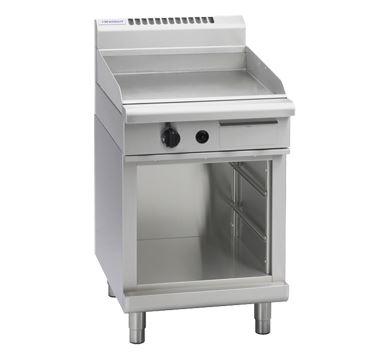 Waldorf 800 Series 600mm Gas Griddle  Cabinet Base