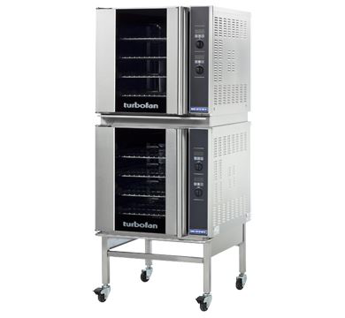 Turbofan Double Stacked Full Size Tray Digital Electric Convection Ovens