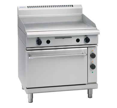 Waldorf 800 Series 900mm Electric Griddle Static Oven Range