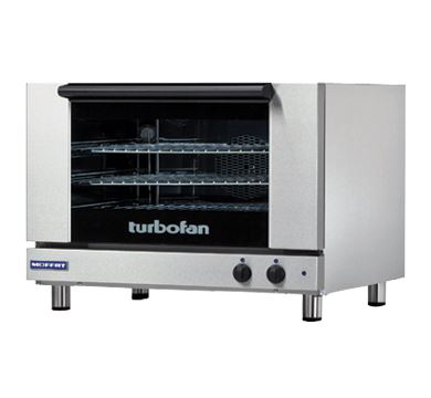 Turbofan Full Size Tray Manual Electric Convection Oven