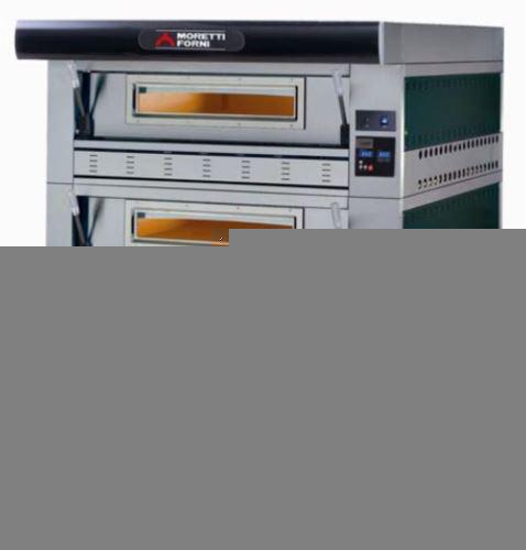 Serie P110G Hi-Tech Gas Double Deck Oven