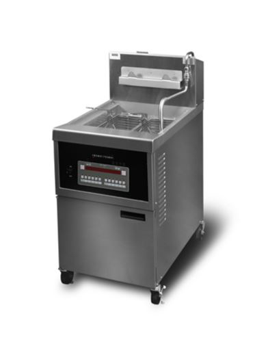 Henny Penny OFG341/8000 Full Gas Full Single Well Open Well Fryer With 8000 Computron Controls