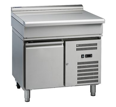 Waldorf 800 Series 900mm Bench Top Low Back Version  Refrigerated Base