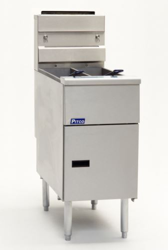 Pitco SG14TS Solstice Stand Alone Gas Fryer