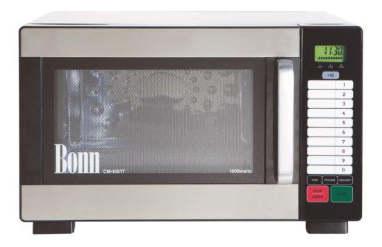 Bonn CM-1051T Light Duty Commercial Microwave 1000W