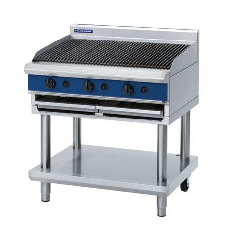 Blue Seal Evolution Series 900mm Gas Chargrill  Bench Model