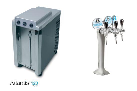 Atlantis 120 Undercounter Elite - Chilled, Ambient & Sparkling Water Font