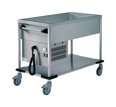 Rieber 2 x 1/1 GN Delivery Trolley - Cooled