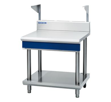 Blue Seal Evolution Series 900mm Bench Top With Salamander Support  Leg Stand