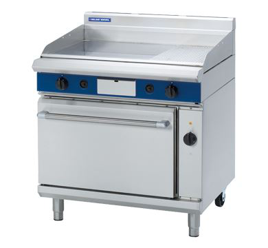 Blue Seal Evolution Series 900mm Gas Griddle Electric Convection Oven Range