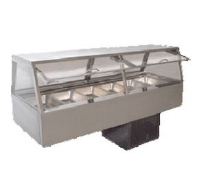 Woodson W.CFSS25 Self Serve Cold Food Display 5 Bay