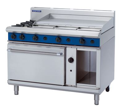 Blue Seal Evolution Series 1200mm Gas Range Static Oven