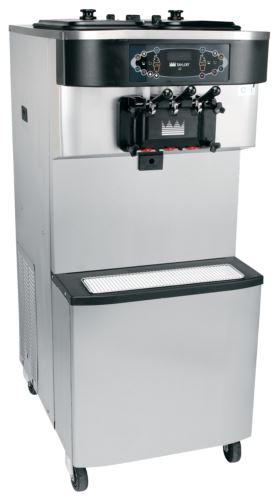 Taylor C712 Soft Serve Freezer Double Flavour on Cart