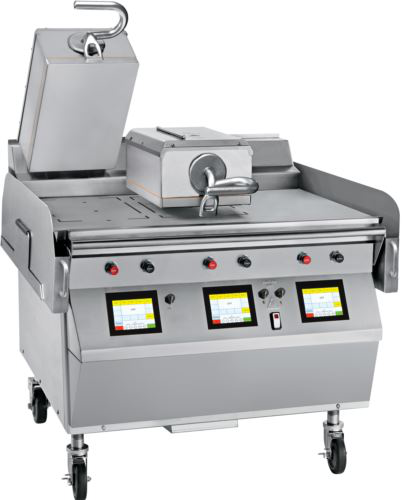 Taylor L812 Triple Cooking Zone with Two Top Platens