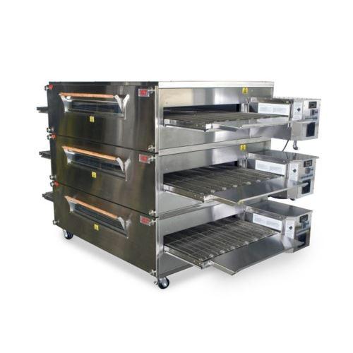 XLT 3870 Gas Conveyor Oven Triple Stack