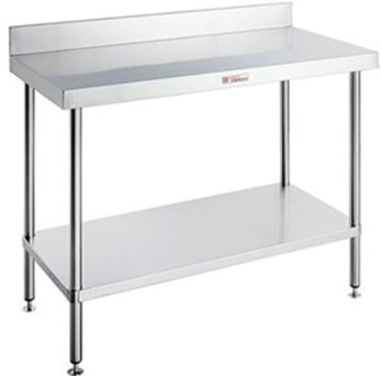 Simply Stainless SS02.7.0900 Work Bench with Splashback (700 Series)