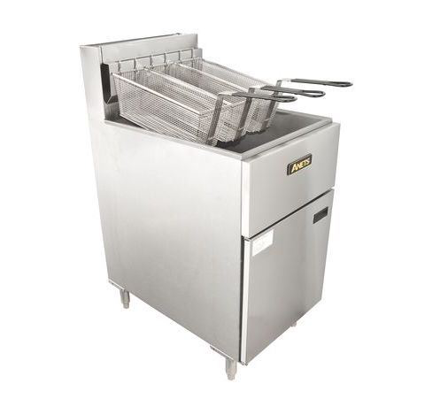 Anets SLG100 Silverline 40L Gas Tube Deep Fryer
