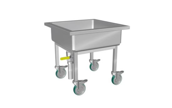 Culinaire CD.SS.300.750 Cutlery Soak Sink with 200mm deep bowl