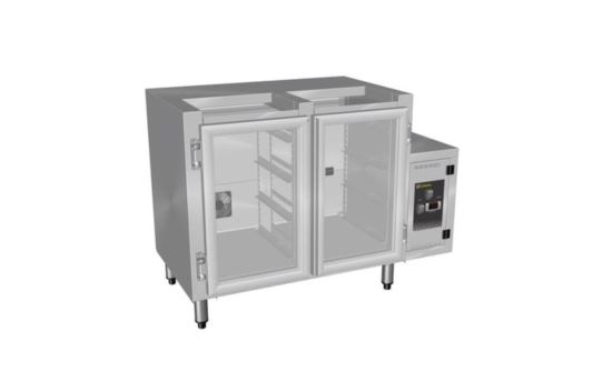 Culinaire CR.GC2.L.RC Double Door Glass Chiller with right hand control box, Lift Off Lid and TX valve