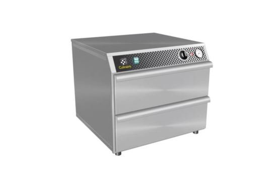 Culinaire CH.WD.0211 2 x 1/1 Gastronorm Warming Drawers