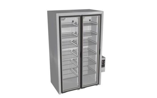 Culinaire CR.WDW.V.FG.RB.PC.2 Black Finish White Wine Refrigerators