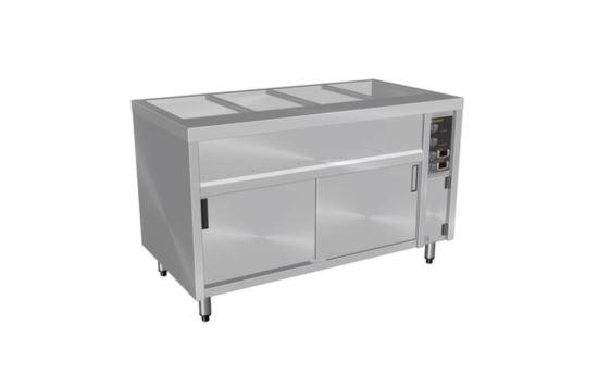 Culinaire CH.BMH.I.3 Three Module Island Bain Marie Hot Cupboard