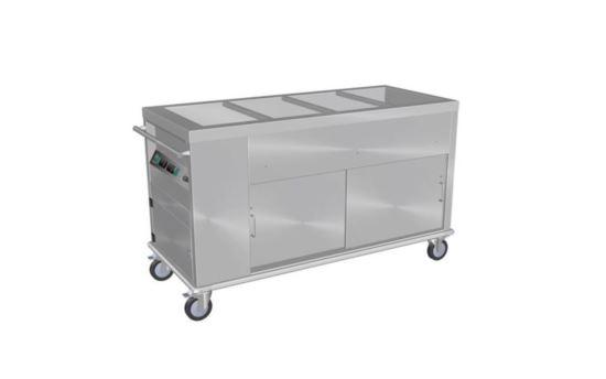 Culinaire CH.BMHM.3 Three Module Mobile Bain Marie Hot Cupboard
