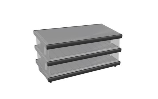 Culinaire CH.HFSAG.2.1200 1200mm wide Hot Food Slides Angled Shelves