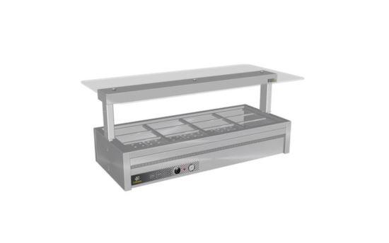 Culinaire CH.BMC.U.GSF.3 Three Module Under Bench Counter Line Bain Marie
