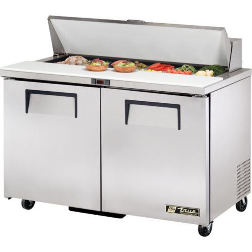 True TSSU-48-12-HC Sandwich / Salad Prep Unit 2 x Solid Door Refrigerated Under