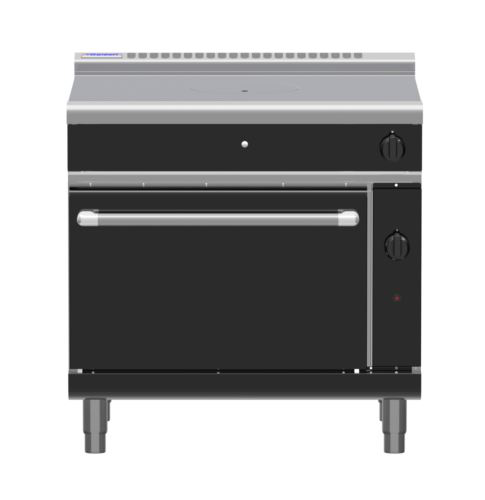 Waldorf Bold RNLB8110G-BK 900mm Gas Target Top Static Oven Range - BLACK