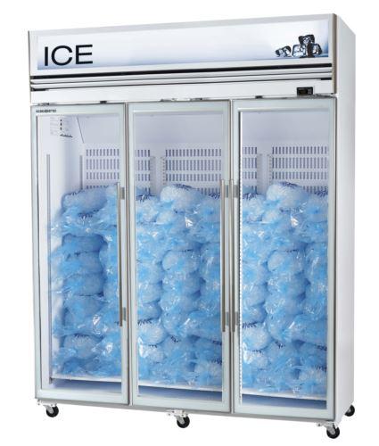 Ice White 3 Door Freezer