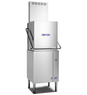 Washtech ALC - Premium Fully Insulated Passthrough Dishwasher with Heat Condensing Unit - 500mm Rack